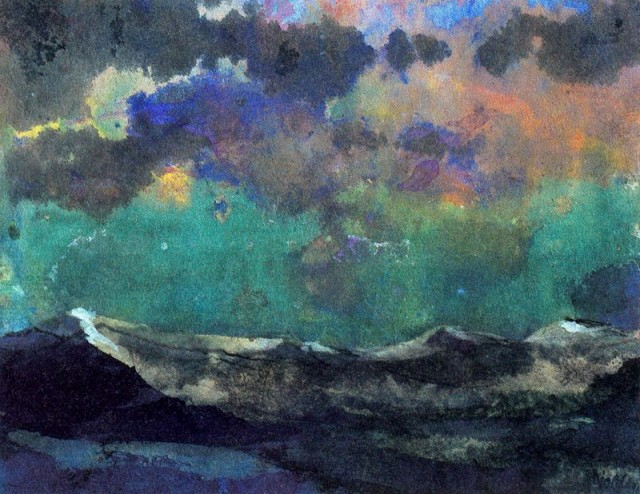 Emil+Nolde+-+Dark+Sea+_Green+Sky_
