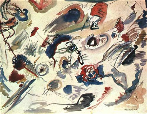 First_abstract_watercolor_kandinsky_1910